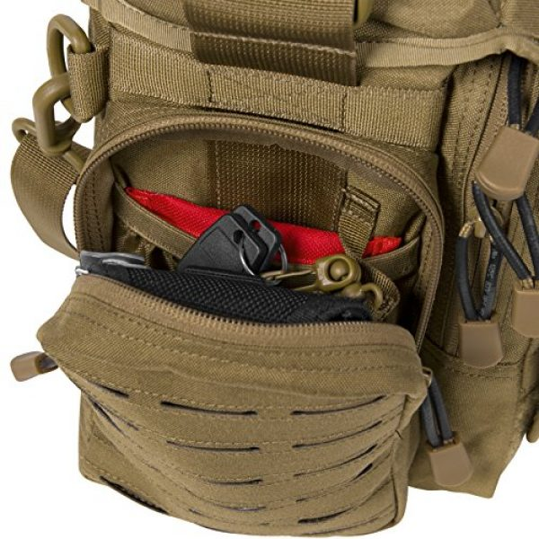 Direct Action Tactical Backpack 6 Direct Action Messenger Tactical Bag 10 Liter Capacity, Ideal for Laptop, ipad or Tablet