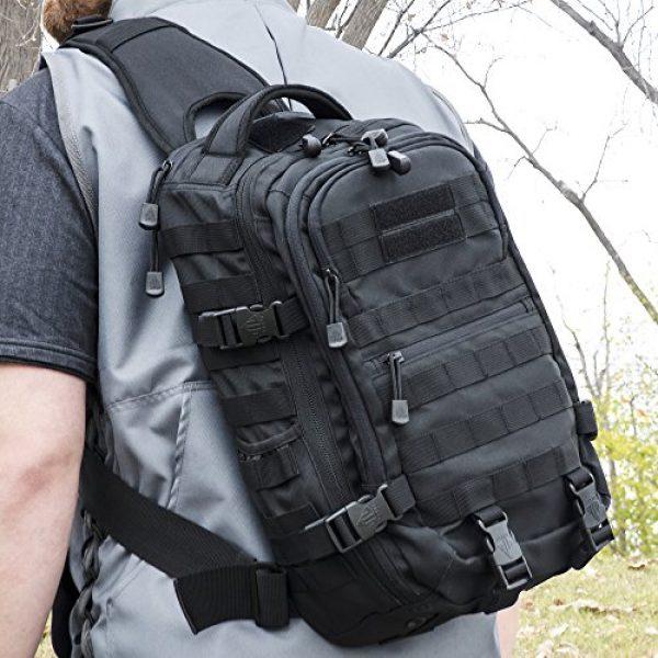 UTG Tactical Backpack 6 UTG Ambi 24/7 Cross Body Shoulder Vital Sling Pack, Black
