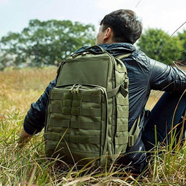 OLEADER Tactical Backpack 7 OLEADER Tactical Backpack Military Army Backpack for Hunting/Hiking/Traveling/Outdoor Middle size 30L