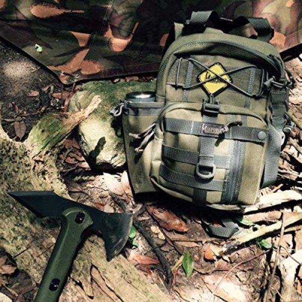 Magforce International Tactical Backpack 6 Magforce Shoulder Tactical Men Sling Pack EDC Quiver Jr. 0434KF