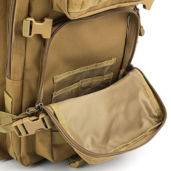Barbarians Tactical Backpack 6 Barbarians Upgraded 35L Tactical Molle Backpack, Military Assault Pack Rucksack for Outdoor Hiking Camping Trekking Hunting
