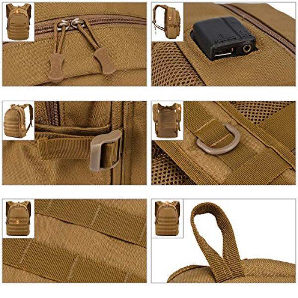 Huntvp Tactical Backpack 6 Huntvp PUBG Backpack Level 3 Tacticalk Laptop Military College Bag