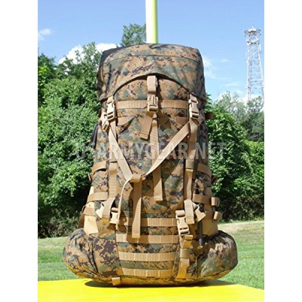 Propper Industries Tactical Backpack 4 Usmc Gen 2 Marpat Tan Woodland Ilbe Main Pack with Lid Belt Complete Arcyteryx