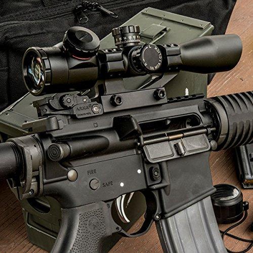 TRUGLO Rifle Scope 3 TRUGLO TRU-Brite Xtreme 4 X 32mm Compact Rifle Scope