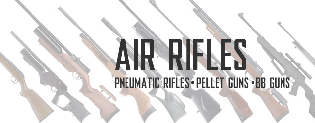 Air Rifles Category For Pneumatic Rifles, Pellet Guns, and BB Guns