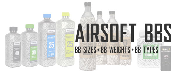 Airsoft BBs Category Header