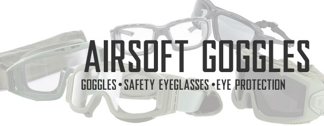 Airsoft Goggles Category For Safety Eyeglasses and Eye Protection