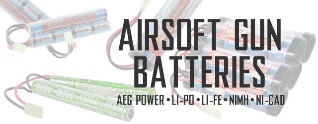 Airsoft Gun Batteries Category For Airsoft Guns