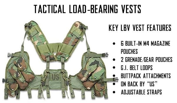Airsoft Load Bearing Vests LBVs