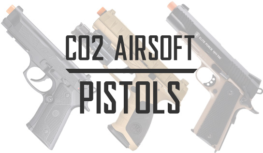 CO2 Blowback Airsoft Pistols