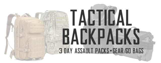 Tactical Backpacks Category Header