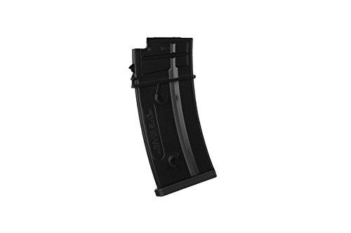 Umarex  6 Umarex H&K G36 140 Round Mid-Cap Airsoft Gun AEG Magazine - Pack of 5