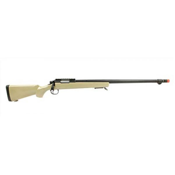 Well Airsoft Rifle 1 Well MB07A Airsoft Sniper Rifle - Tan