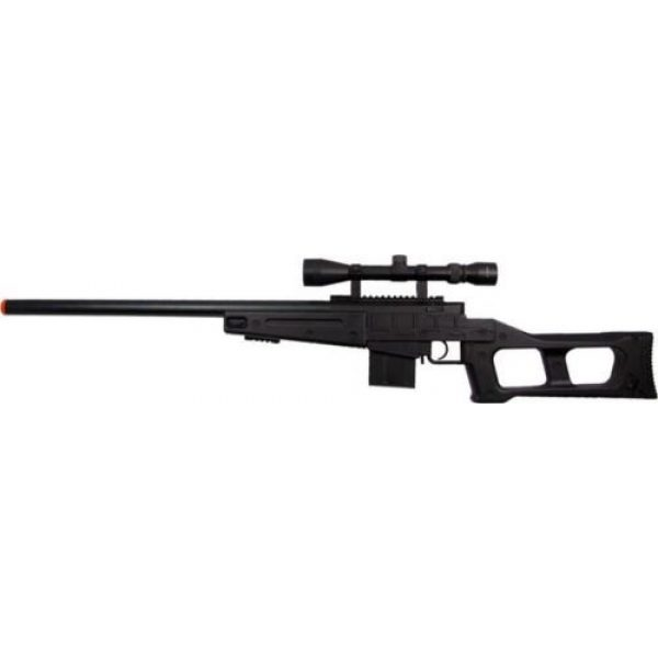 Prima USA Airsoft Rifle 3 well mb4408c bolt action spring airsoft sniper rifle with scope 390 fps(Airsoft Gun)
