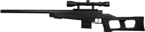 Prima USA  3 well mb4408c bolt action spring airsoft sniper rifle with scope 390 fps(Airsoft Gun)