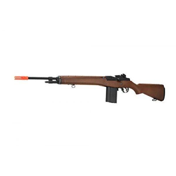 Lancer Tactical Airsoft Rifle 3 Lancer Tactical WE Full Metal M14 Gas Blowback Airsoft Sniper Rifle Imitation Wood 400 FPS