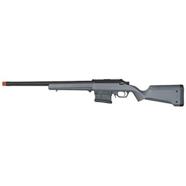 Elite Force Airsoft Rifle 1 Amoeba AS-01 Striker Rifle Gen2 6mm BB Sniper Rifle Airsoft Gun, Urban Gray