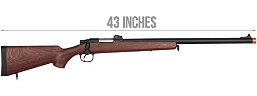 Double Bell  2 Double Bell VSR-10 Spring Bolt Action Airsoft Rifle Faux Wood