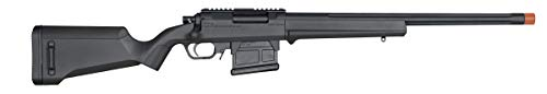 Elite Force Airsoft Rifle 2 Elite Force Amoeba AS-01 Striker Rifle Gen2 6mm BB Sniper Rifle Airsoft Gun, Black, One Size (2274587)