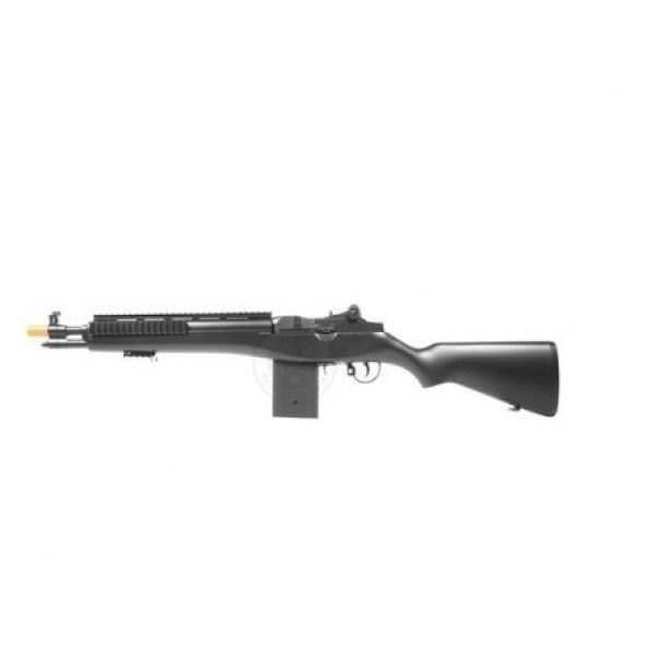 Electric Airsoft Rifle 6 enhanced 2012 full auto electric fps-330 m14 aeg fully automatic and semi automatic airsoft electric gun w/ rail system! 34 inches long! free high capacity magazine, ready to go right out of the box!(Airsoft Gun)