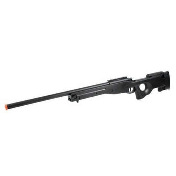 AGM Airsoft Rifle 3 Airsoft AGM Metal Bolt Action L96 AWP Sniper Rifle Black