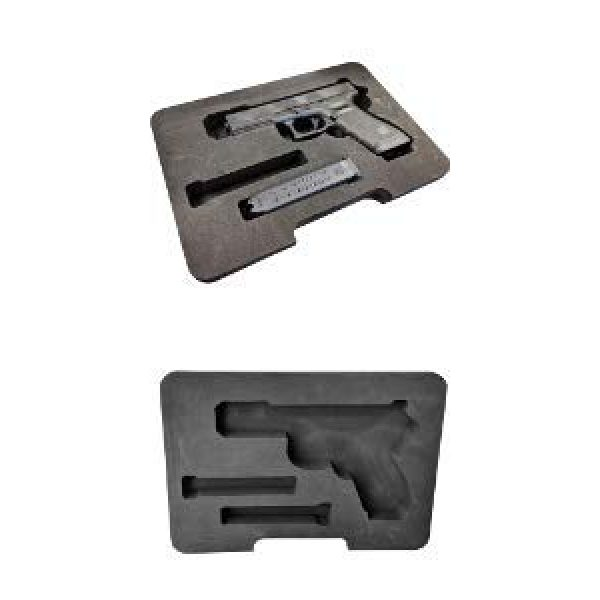 Cedar Mill Fine Firearms Pistol Case 6 Cedar Mill Fine Firearms Replacement Foam for The Pistol Case