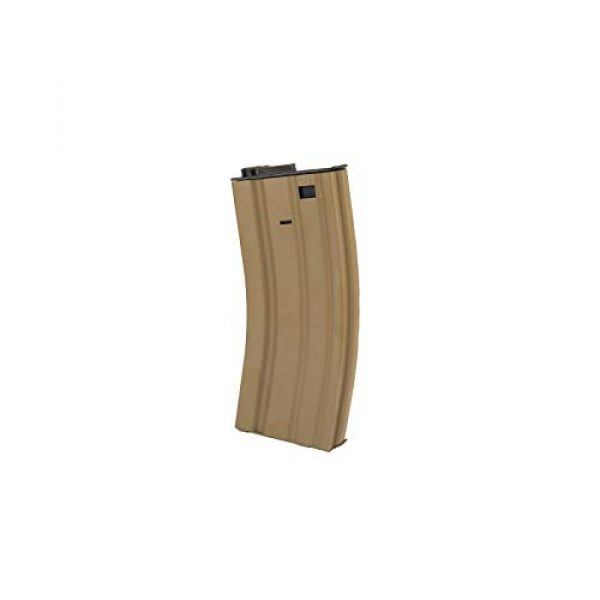 """Lancer Tactical Airsoft Rifle 7 Lancer Tactical 12"""" KeyMod Rail with Picatinny Carbine AEG Airsoft Rifle Tan 395 FPS"""