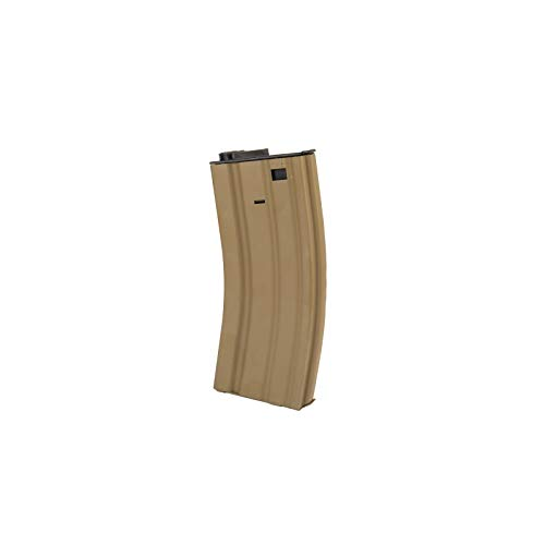 """Lancer Tactical  7 Lancer Tactical 12"""" KeyMod Rail with Picatinny Carbine AEG Airsoft Rifle Tan 395 FPS"""
