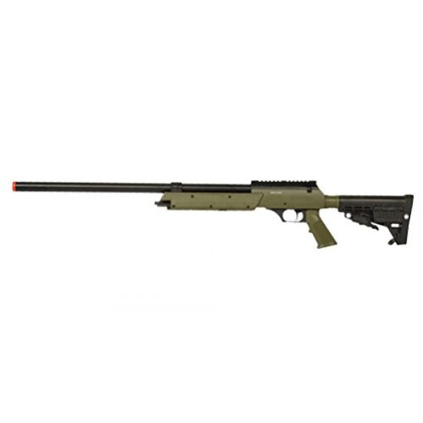 Well Airsoft Rifle 1 Well Spec-Ops APS SR-2 Spring Powered Airsoft Sniper Rifle Gun FPS 500 (Green)