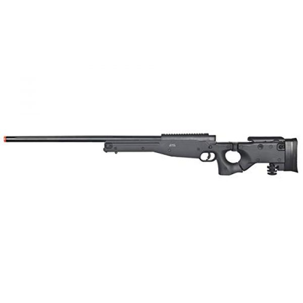 Well Airsoft Rifle 1 Well MB08 Airsoft Sniper Rifle - Black