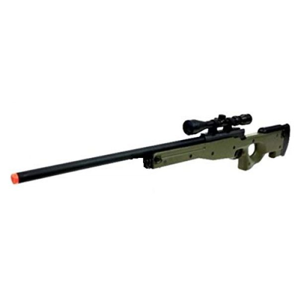 Well Airsoft Rifle 1 Well MB01 Airsoft Sniper Rifle W/Scope - OD Green