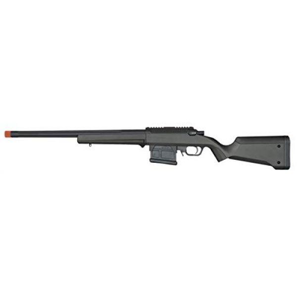 Elite Force Airsoft Rifle 1 Elite Force Amoeba AS-01 Striker Rifle Gen2 6mm BB Sniper Rifle Airsoft Gun, Black, One Size (2274587)