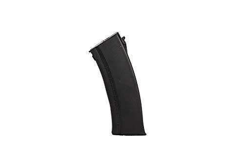 Lancer Tactical  7 Lancer Tactical AK-Series AKS-105 AEG Airsoft Rifle with Skeleton Foldable Stock Black