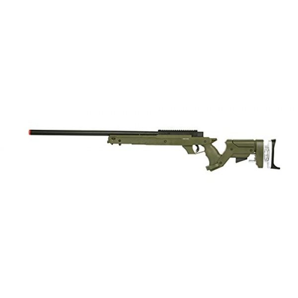 Well Airsoft Rifle 1 Well Sr22 Full Metal Type 22 Bolt Action Sniper Rifle Airsoft Gun (OD), Green