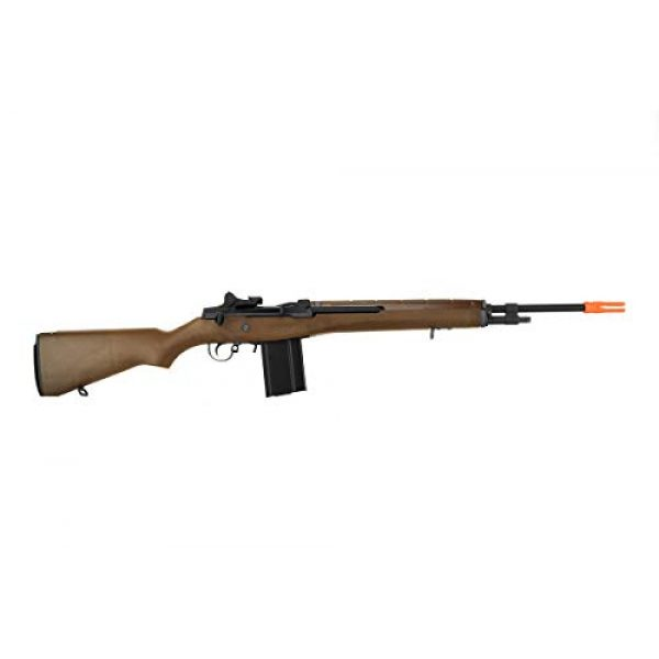 Lancer Tactical Airsoft Rifle 2 Lancer Tactical WE Full Metal M14 Gas Blowback Airsoft Sniper Rifle Imitation Wood 400 FPS