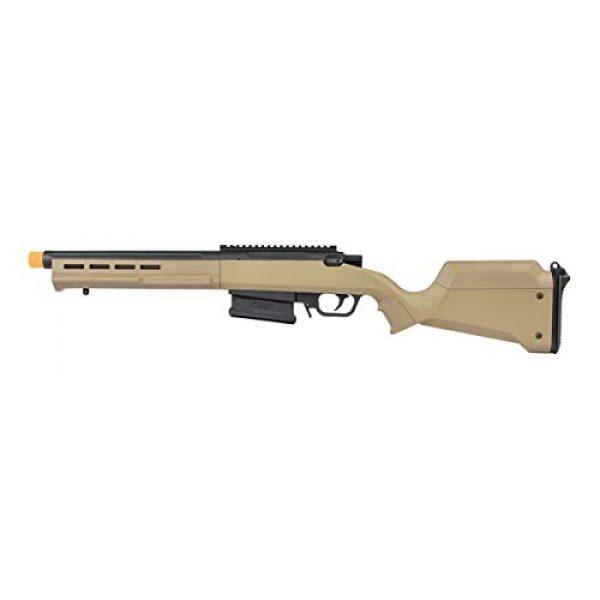 Elite Force Airsoft Rifle 2 Elite Force Amoeba AS-02 Striker Rifle 6mm BB Sniper Rifle Airsoft Gun, Dark Earth Brown