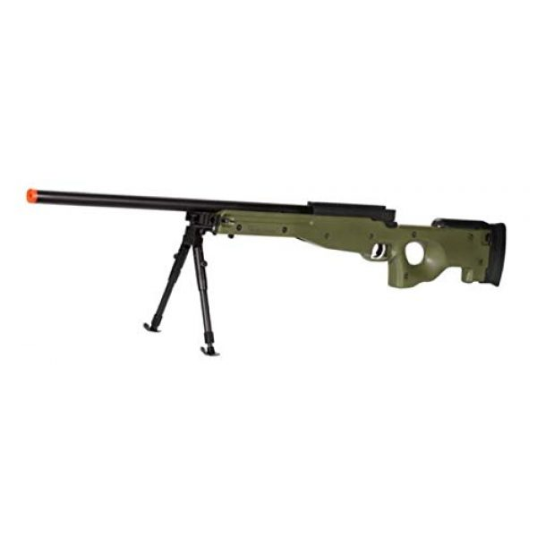 Well Airsoft Rifle 1 Well MB01 Airsoft Sniper Rifle W/Bipod - OD Green