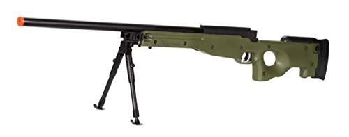 Well  1 Well MB01 Airsoft Sniper Rifle W/Bipod - OD Green