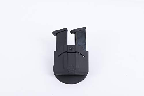 Orpaz  1 Orpaz Professional Magazine Holster for Two Double Stack 9mm Polymer Magazines Made in Israel
