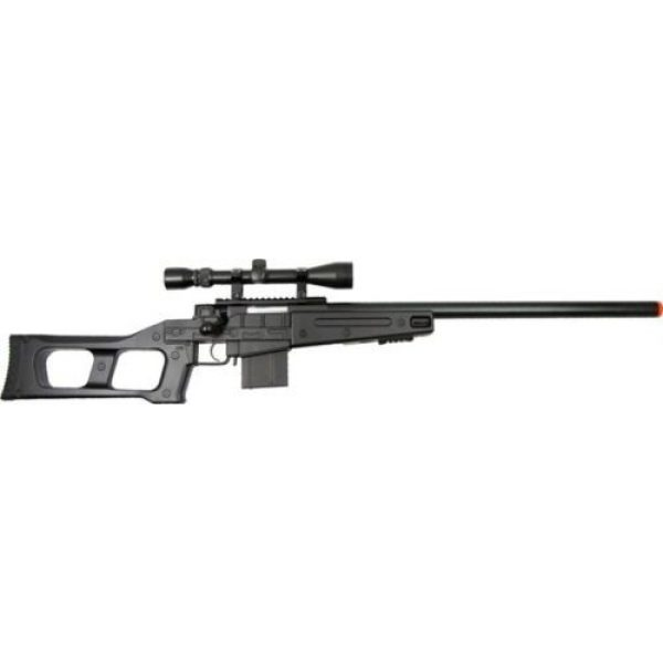 Prima USA Airsoft Rifle 1 well mb4408c bolt action spring airsoft sniper rifle with scope 390 fps(Airsoft Gun)