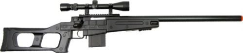 Prima USA  1 well mb4408c bolt action spring airsoft sniper rifle with scope 390 fps(Airsoft Gun)