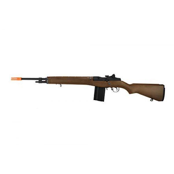 Lancer Tactical Airsoft Rifle 1 Lancer Tactical WE Full Metal M14 Gas Blowback Airsoft Sniper Rifle Imitation Wood 400 FPS