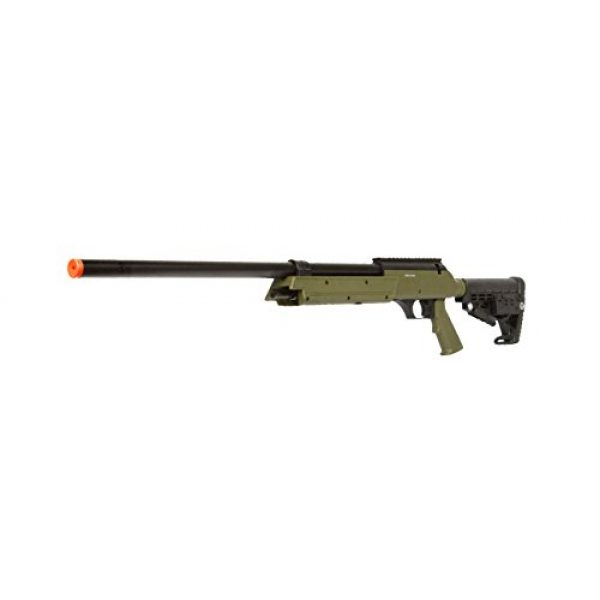 Well Airsoft Rifle 3 Well Spec-Ops APS SR-2 Spring Powered Airsoft Sniper Rifle Gun FPS 500 (Green)