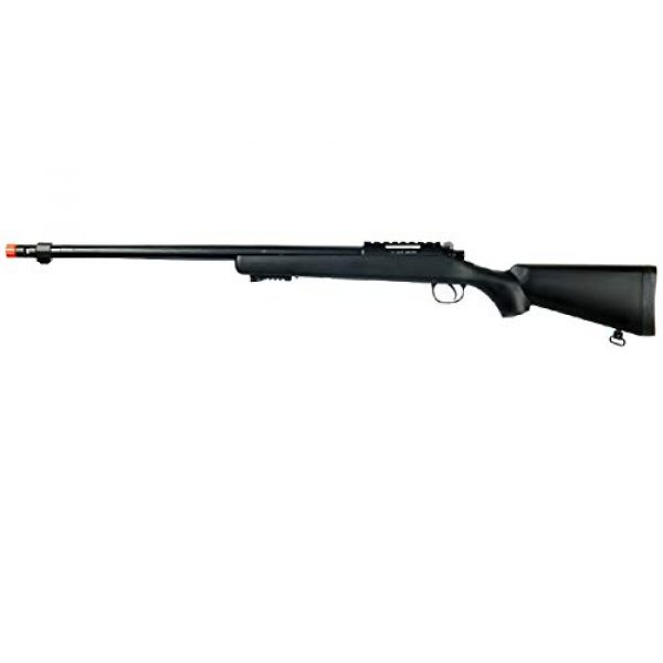Well Airsoft Rifle 1 Well MB07 Airsoft Sniper Rifle - Black