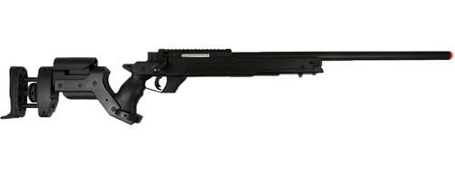 Well  1 Well MB05A AWM APS2 Spring Bolt Action Airsoft Sniper Rifle