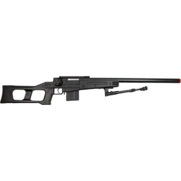 Prima USA Airsoft Rifle 2 well mb4408b bolt action spring airsoft sniper rifle with bipod 390 fps(Airsoft Gun)