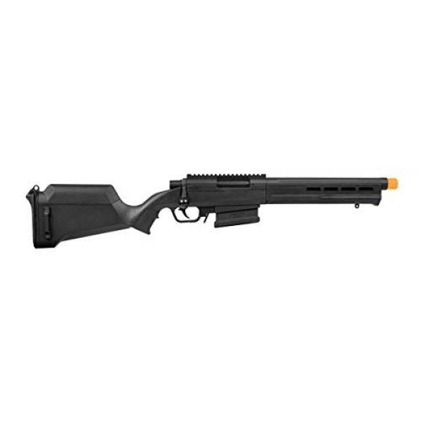 Elite Force Airsoft Rifle 1 Elite Force Amoeba AS-02 Striker Rifle 6mm BB Sniper Rifle Airsoft Gun, Black