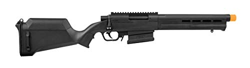Elite Force Airsoft Rifle 1 Elite Force Amoeba AS-02 Striker Rifle 6mm BB Sniper Rifle Airsoft Gun, Black
