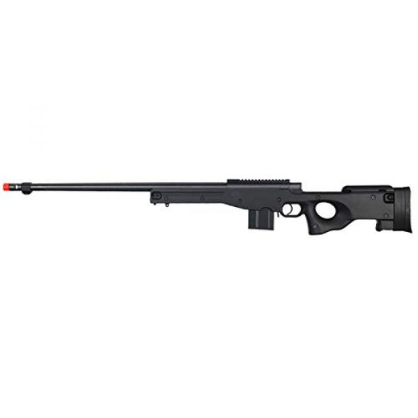 Well Airsoft Rifle 1 Well MB4402 Airsoft Sinper Rifle - Black