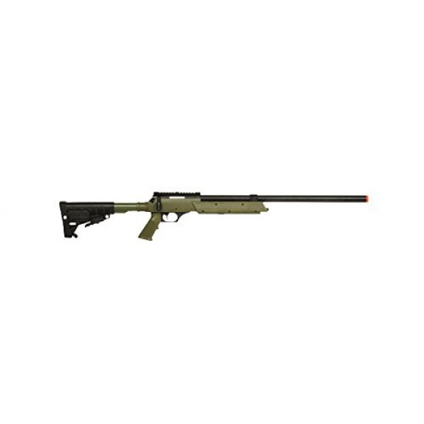 Well Airsoft Rifle 2 Well Spec-Ops APS SR-2 Spring Powered Airsoft Sniper Rifle Gun FPS 500 (Green)